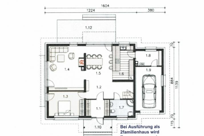 EFH Triest 192 - Grundriss EG