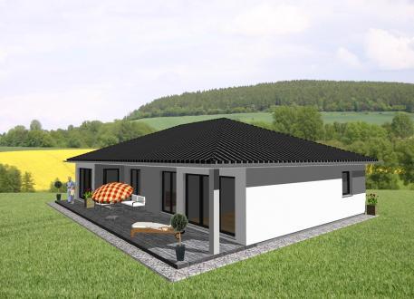 Ebenerdiges Wohnen mit ansprechendem Grundriss - Charakter - www.jk-traumhaus.de