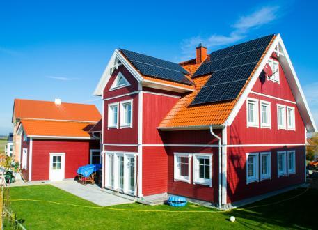 Ein Schwedenhaus für eine große Familie