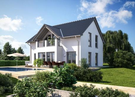bis 200.000 € Einfamilienhaus - Landhaus - Satteldach - schlüsselfertig