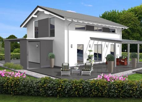Niedrigenergiehaus Einfamilienhaus 146 - 190
