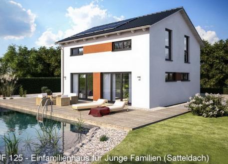 Einfamilienhaus JUNGE FAMILIE € 241.875 schlüsselftg.inkl.Bodenplatte - AKTION