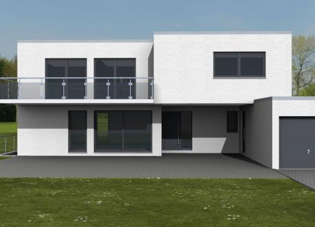 Designerhaus Einfamilienhaus Mainz