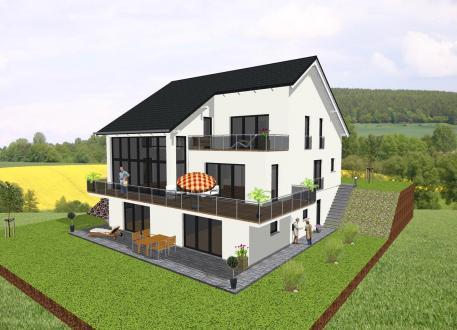 Stadthaus Einfamilienhaus mit zwei Einliegerwohnungen- www.jk-traumhaus.de