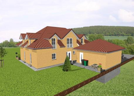 Stadthaus Exklusives Einfamilienhaus mit imposanter Dachgestaltung - www.jk-traumhaus.de