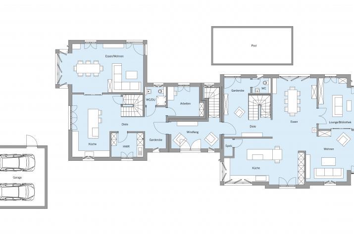 Fröhlich - Erdgeschoss