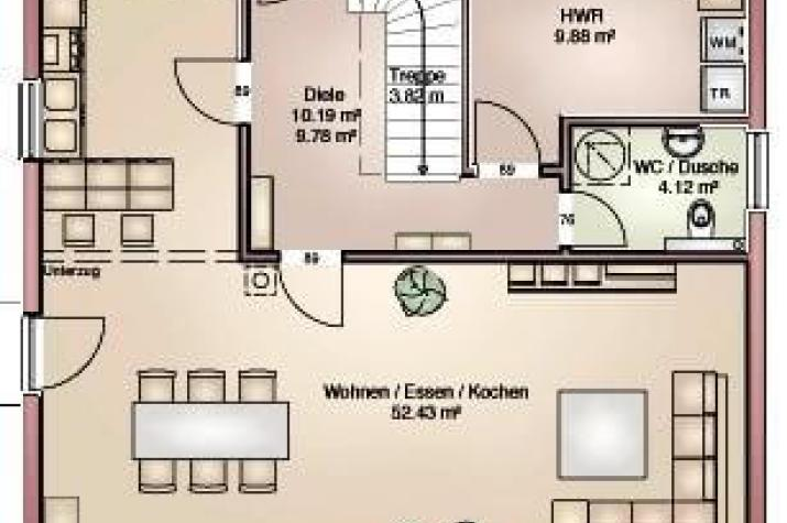 Haus Finn 149 - grundriss eg