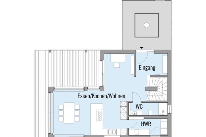 Haus am See - Erdgeschoss