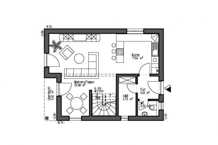 Josephine - Erdgeschoss