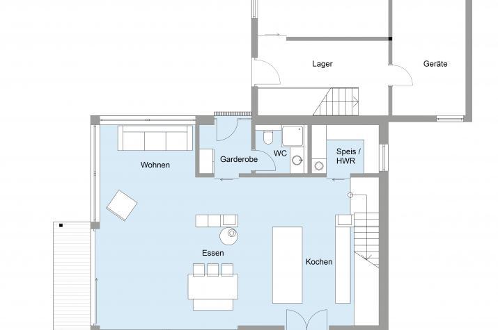 Kaiser - Erdgeschoss