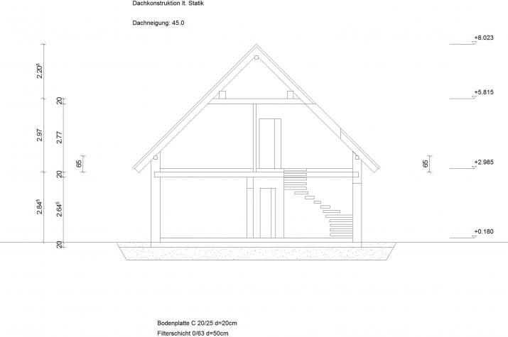 Klassik 11.10 - Skizzenansicht Seitlich
