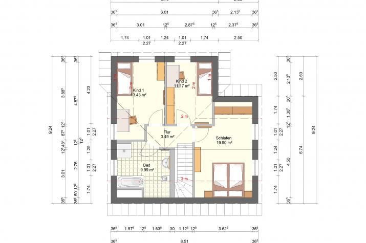 Klassik 11.31 - Dachgeschoss