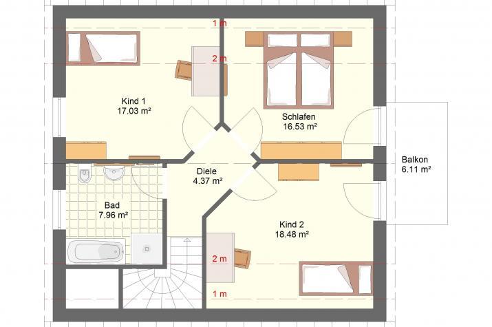 Klassik 12.14 - Obergeschoss