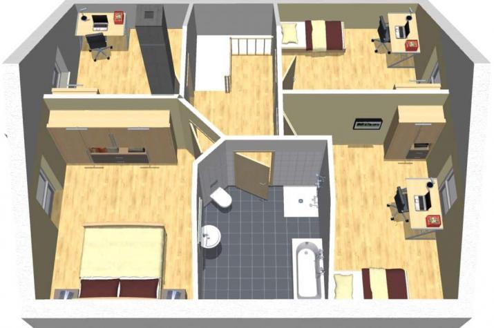 Klassik 12.53 - 3D Obergeschoss