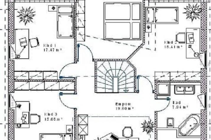 Klassik 15.20 - Skizze Dachgeschoss