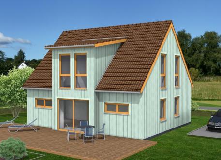 Klein und fein im Schwedenhausstil - Mit Holzverbundhaus zum eigenen Haus