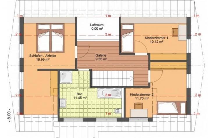 Kowalski Haus - CAROLINA 162 - grundriss dg