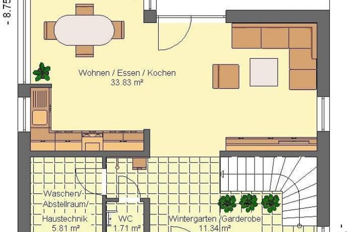 Kowalski Haus - Flora 104 - grundriss eg