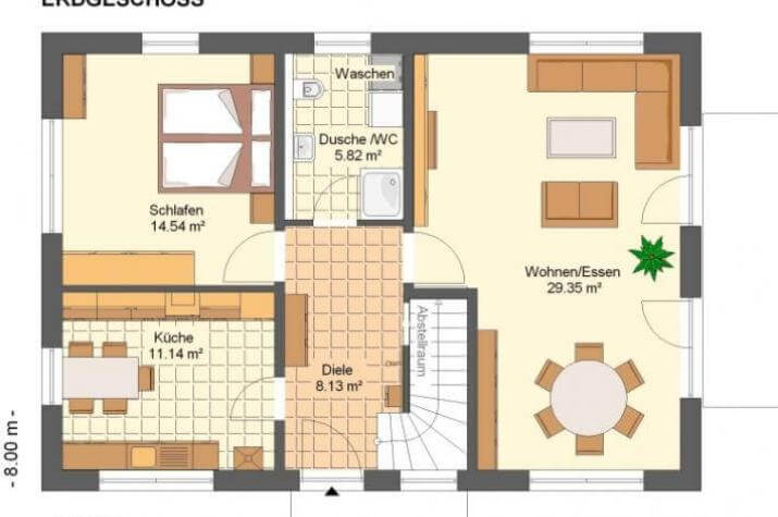 Kowalski Haus - SOLEA 170 - grundriss eg