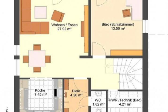 Kowalski Haus - ZOE 123 - grundriss eg