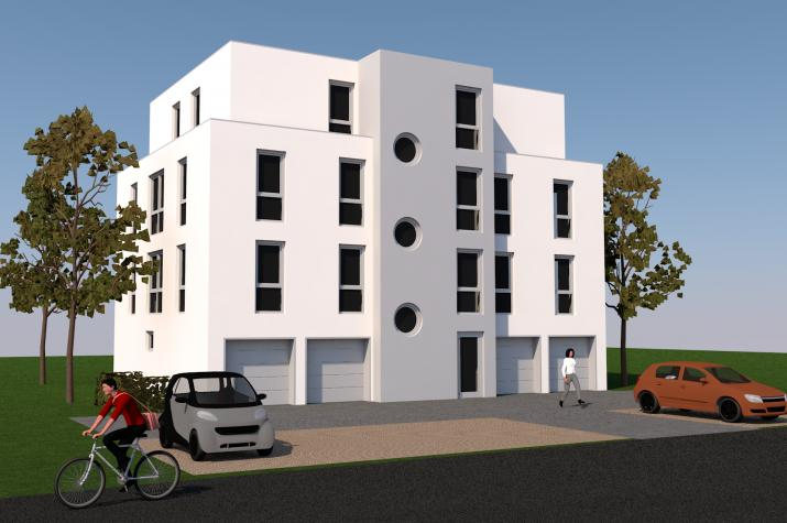 MFH Seligenstadt - Mehrfamilienhaus mit 7 Wohnungen
