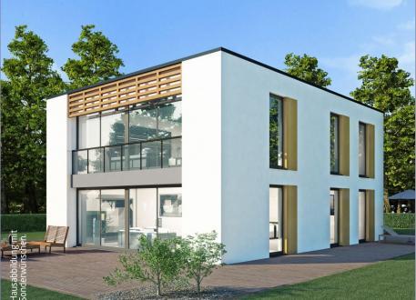 Designerhaus Massiv-Hausidee ZH 185 T