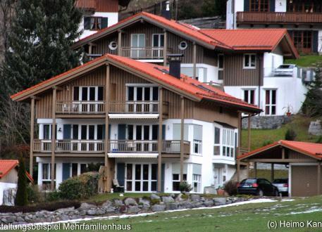 Mehrfamilienhaus - freie Planung - Architektenhaus (Beispiel mit 6 WE)