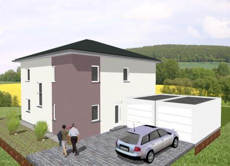 Moderne Stadtvilla mit dem gewissen Etwas - www.jk-traumhaus.de