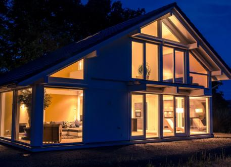 Fachwerkhaus Modernes Fachwerkhaus in Freisen