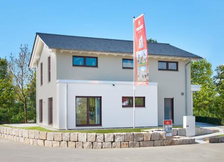 Musterhaus Mannheim - Thermische Gebäudehülle trifft Eisspeicher