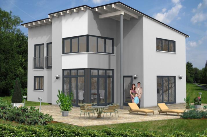 PULTDACH HAUS NISTERTAL 30-016 - Pultdach Haus Nistertal