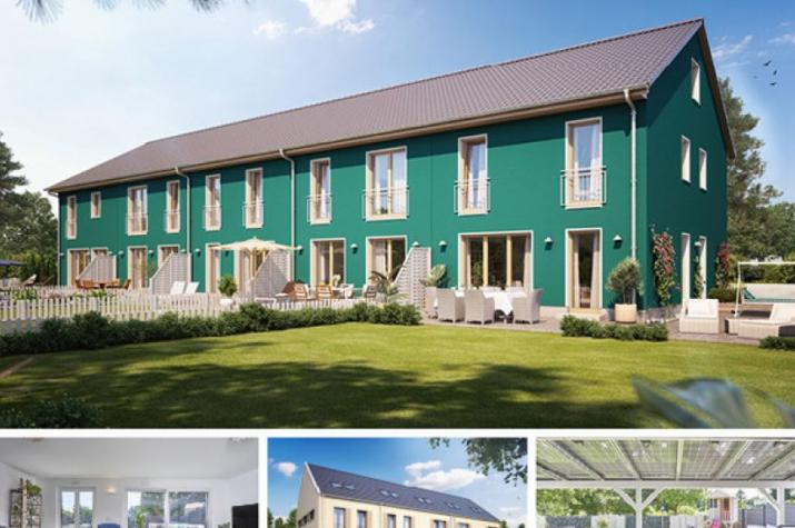 Reihenmittelhaus S450 in NRW und Hessen - Außenansicht