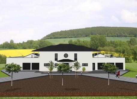 Haus mit Einliegerwohnung Repräsentative Villa mit Nebengebäuden - www.jk-traumhaus.de