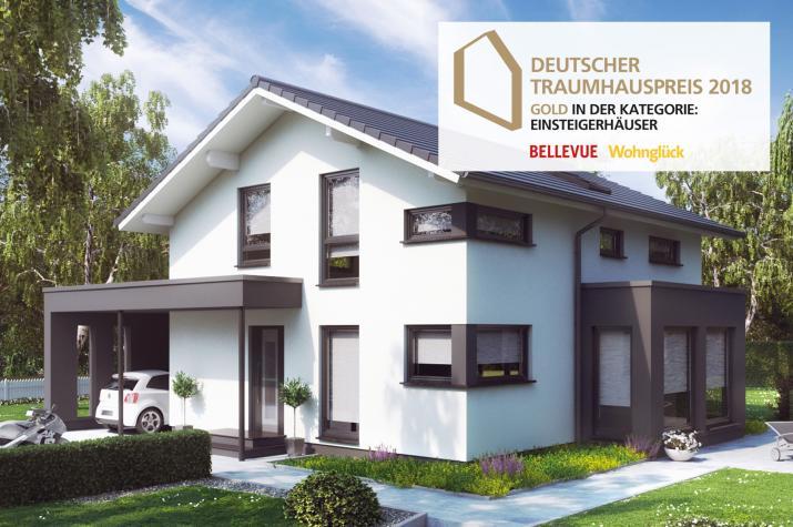 """SUNSHINE 143 Mülheim-Kärlich - Ausgezeichnet mit dem Deutschen Traumhauspreis 2018 in Gold in der Kategorie """"Einsteigerhäuser"""""""