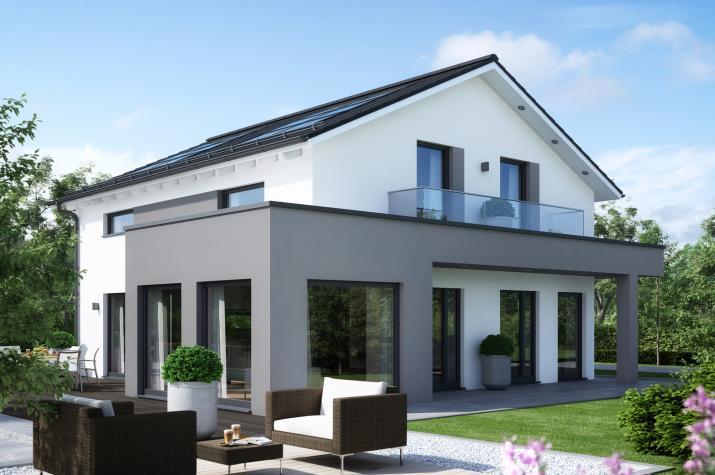 SUNSHINE 165 V4 - Elegantes Traumhaus mit Übereck-Panoramaerker zum absoluten Traumpreis