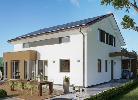 Frei planbare Häuser SUNSHINE 167 V5