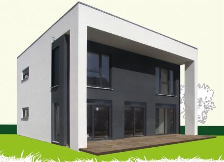 Designerhaus Sachsenheimer Fertighaus FD142