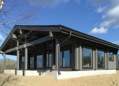 "Skandinavisches Holzhaus, Projekt ""Morgen"" 110 m²"