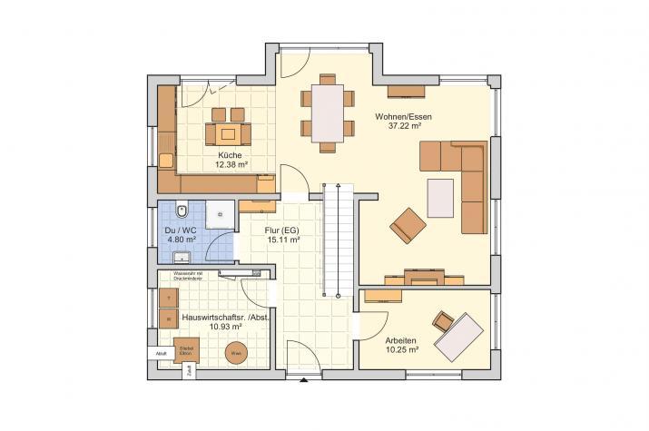 Solera: Komfortables Wohnen - mit Charme und Wohlfühleffekt  - Erdgeschoss