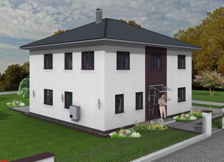 Stadtvilla 178 qm Wohnfläche auf Bodenplatte
