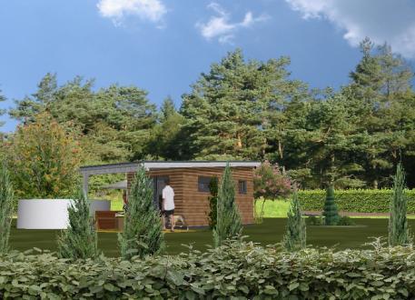 bis 100.000 € Tiny Home Garten-Marie