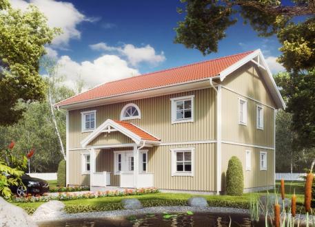 Niedrigenergiehaus Villa Ulla Lindberg