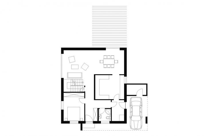 Wohnhaus   WH3   168 qm   KfW55 - EG