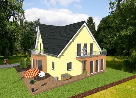 Haus mit Einliegerwohnung ...individuell geplant ! - Generationshaus im Landhausstil - www.jk-traumhaus.de