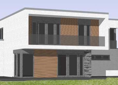 Designerhaus ...individuell geplant ! - Imposantes Bauhaus mit interessanter Fassadengestaltung - www.jk-traumhaus.de