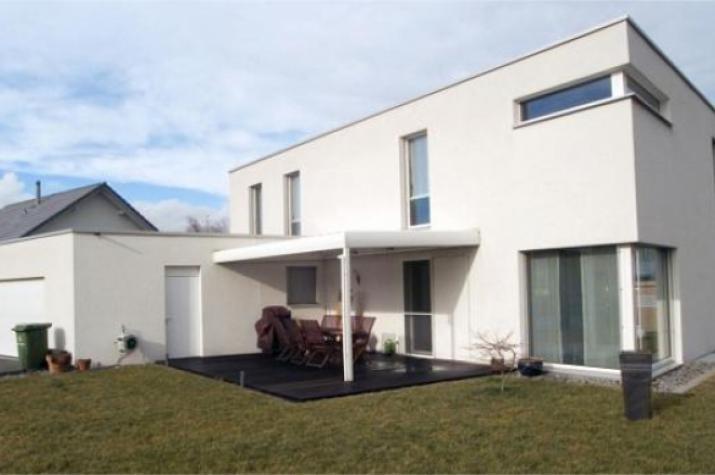...individuell geplant ! - Kubische Villa im Bauhausstil mit Dachterrasse und Doppelcarport - www.jk-traumhaus.de - vorschau