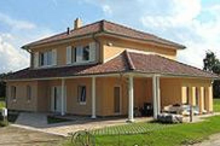 ...individuell geplant ! - Mediterrane Stadtvilla mit integriertem Carport und Wintergarten - www.jk-traumhaus.de - vorschau