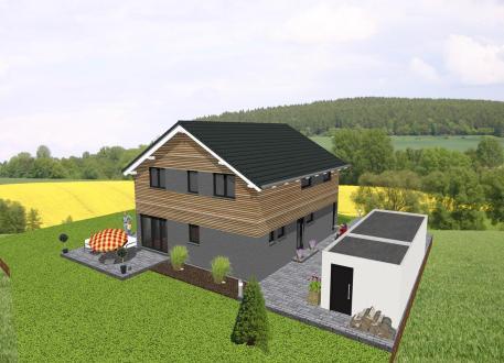 ...individuell geplant ! - Modernes Einfamilienhaus - www.jk-traumhaus.de