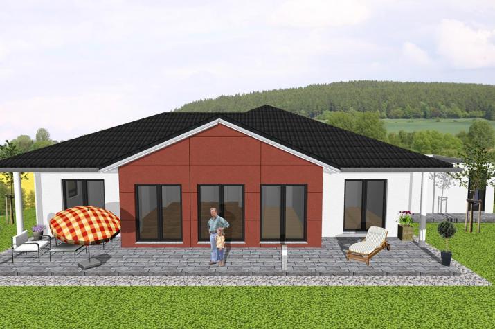 ...individuell geplant ! - Winkelbungalow mit Erker - www.jk-traumhaus.de -