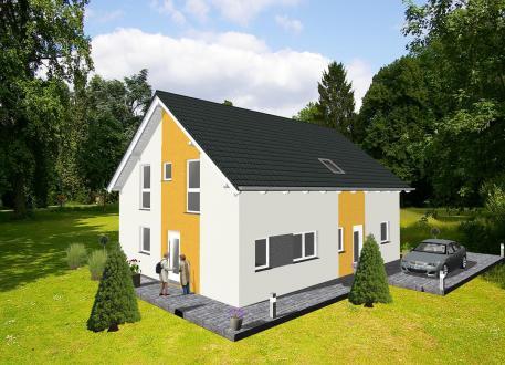 Holzhaus ...individuell geplant ! Klassische Architektur für zwei - www.jk-traumhaus.de